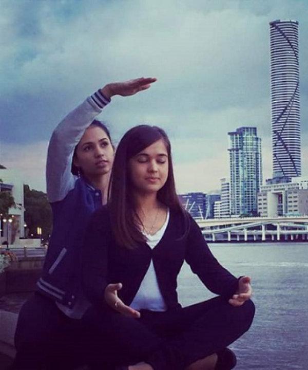 Sahaja yogis rising kundalini