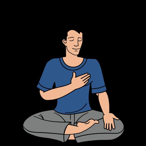 Sahaja Yoga meditation step 1