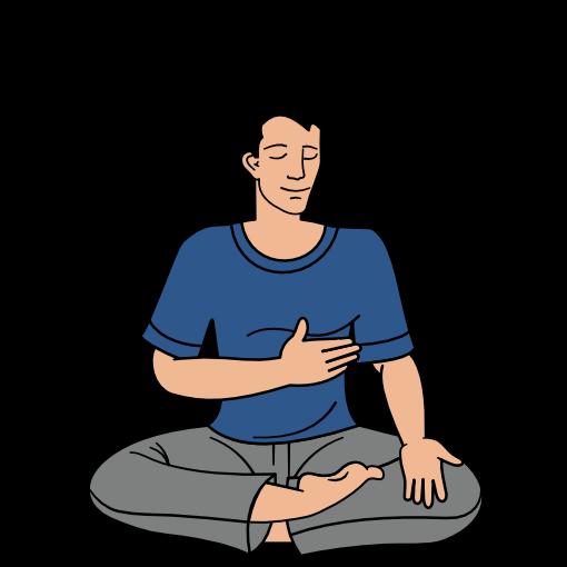 Sahaja Yoga meditation step 2