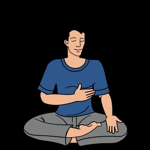 Sahaja Yoga meditation step 4