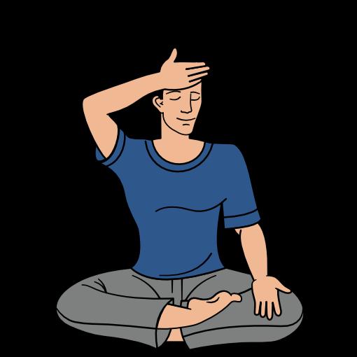Sahaja Yoga meditation step 7