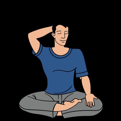 Sahaja Yoga meditation step 8