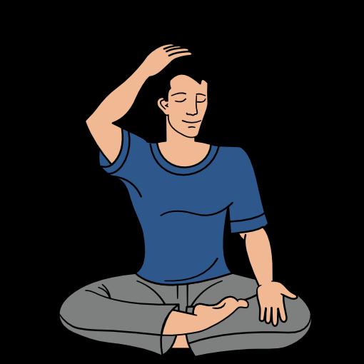 Sahaja Yoga meditation step 9